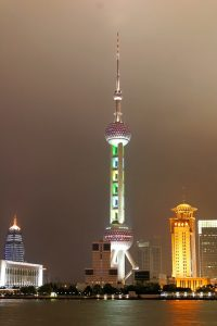 Shanghais TV-tårn.