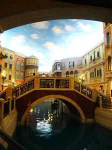 Fra Venezia-hotellet i Macau. Bildet er tatt innendørs. Foto: Reisetilkina.com