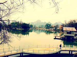 Bilde fra en havn nær storbyen. Foto: Reisetilkina.com