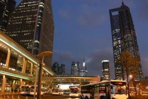 Bybilde i Shanghai er flott og vestlig. Foto: Reisetilkina.com