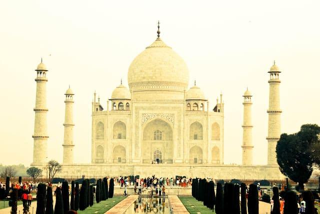 Taj Mahal - mitt beste bilde. Foto: Reisetilkina.com