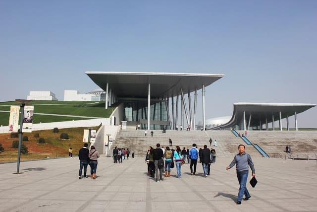 Museumet i Hohhot City vi besøkte. Foto: Reisetilkina.com