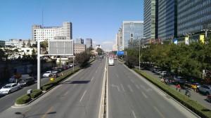 Beijing på en god dag.