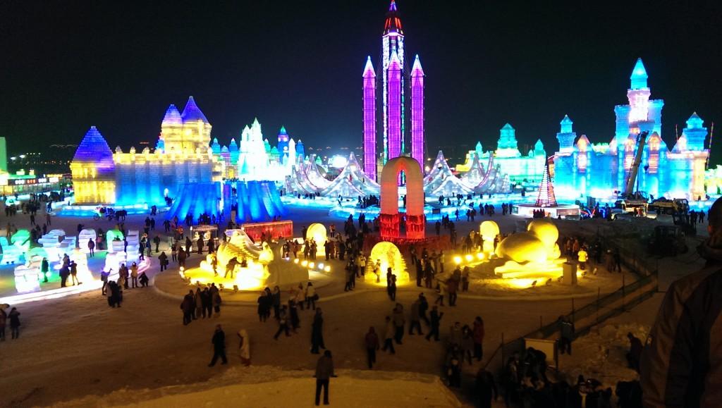 Et oversiktsbilde av hva du kan forvente deg i Harbin. Foto: Reisetilkina.com