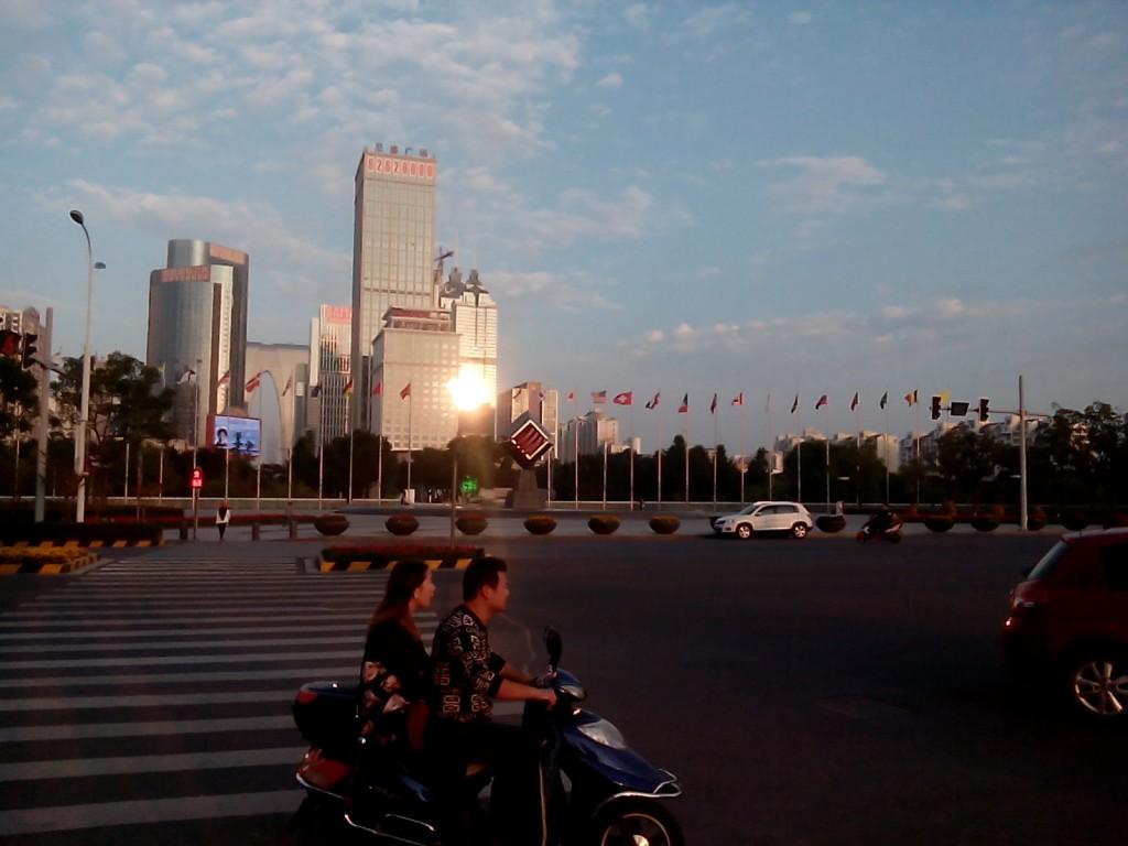 En smakebit av hva Suzhou Financial District har å by på. Foto: Reisetilkina.com